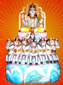Lord Surya Bhagavan